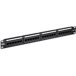 TRENDnet 24-Port Cat5/5e RJ-45 UTP Unshielded Wallmount or Rackmount Patch Panel, Certified 100Mhz Cat 5e, Krone Connectors, Color-Coded Labeling, TC-P24C5E