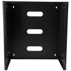 StarTech.com 6U 12-Inch Deep Wall Mounting Bracket for Patch Panel, WALLMOUNT6 (Black)