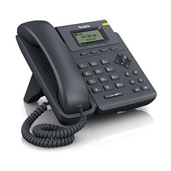 Yealink Entry Level IP Phone with POE (power supply not included - PS5V600US)
