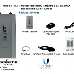 UBIQUITI NETWORKS RM2-TI US Ubiquiti RM2-Ti US Version Outdoor RocketM2 Titanium 2.4GHz airM Microcom: Ubiquiti Networks RM2-TI US$229