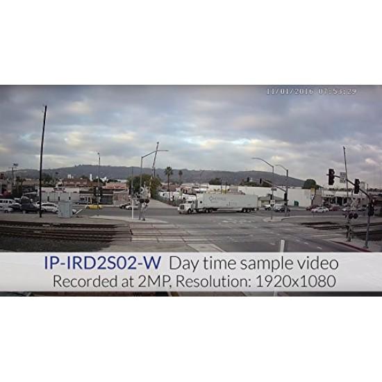 2MP HD IP IR Dome Fixed Lens Camera   IP-IRD2S02-W