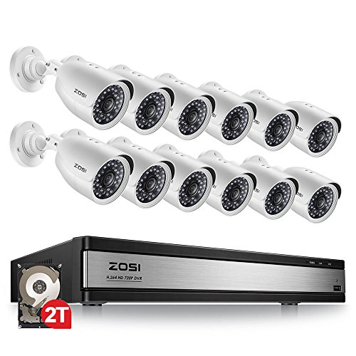 1080p Hd Tvi 8 Channel Security Camera System 1080n